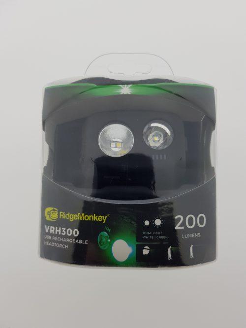 RidgeMonkey VRH300 Hoofdlamp
