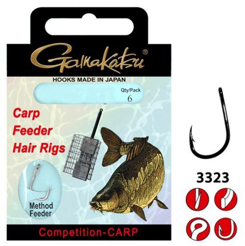 Gamakatsu Competition CARP Method Feeder - Lijn lengte 12 cm