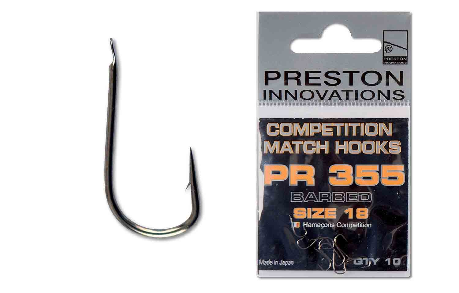 Preston Match Hooks PR 355 10pcs
