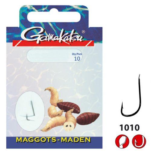 Gamakatsu MAGGOTS 1010B - Lijn lengte 45 cm