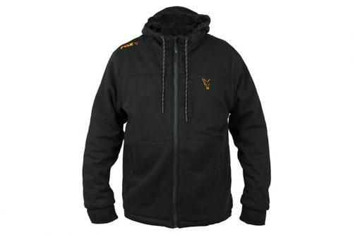 Fox Collection sherpa hoody black/orange
