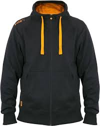 Fox Black/orange Lightweight Zipped Hoody