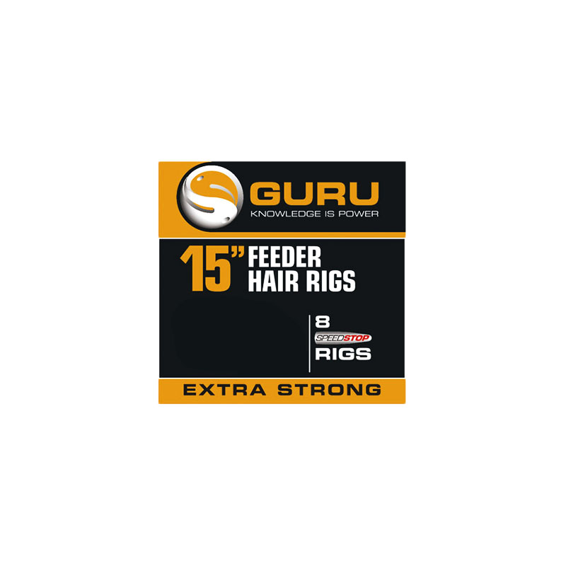 """Guru Feeder Hair Rigs 15"""""""