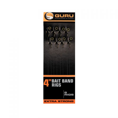 Guru Bait Band Rigs 10cm (8 stuks)