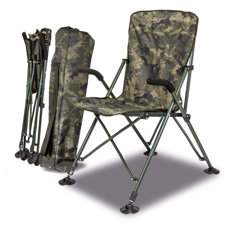 Solar Undercover Camo Foldable Easy Chair High