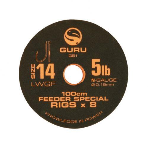 Guru Feeder Special Rigs 100cm