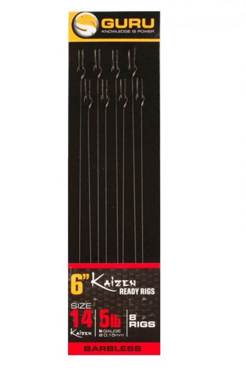 Guru Kaizen Pole Rigs Barbless 15cm