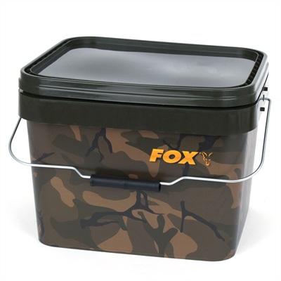 CBT006 Fox Camo Square Bucket 10L