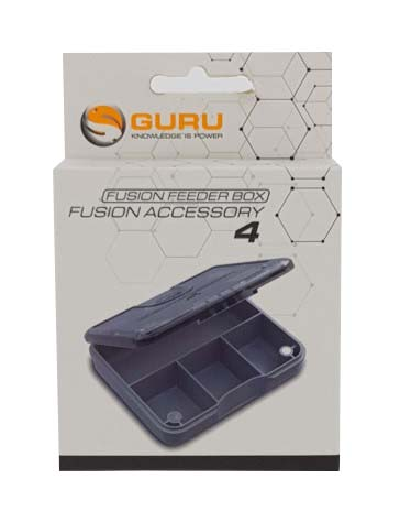 Guru Feeder Box Divided Fusion Accessory 4 Compartments