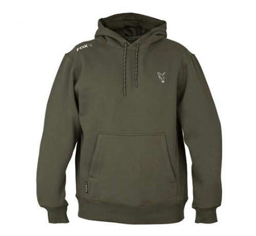 Fox Collection Hoodie Green/Silver