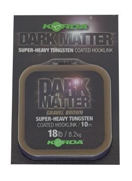 Korda Dark Matter Coated Hooklink Gravel Brown 10m