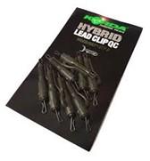 Korda Hybrid Lead Clip QC Weed/Silt 8pcs