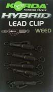 Korda Hybrid Lead Clip Weed 8pcs