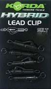 Korda Hybrid Lead Clips Silt 8pcs