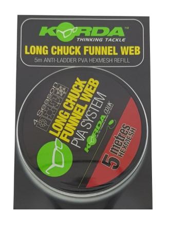 Korda Long Chuck Funnel Web Hexmesh Refill 20m