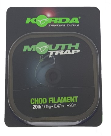 Korda Mouth Trap 0.47mm 20lb 20mtr