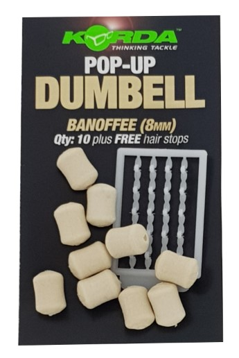 Korda Pop-Up Dumbell Banoffee