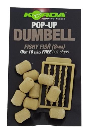 Korda Pop-Up Dumbell Fishy Fish