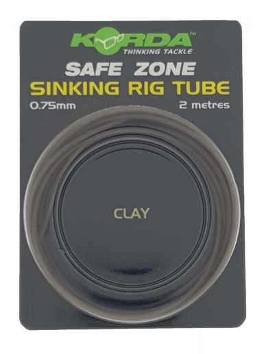 Korda Sinking Rig Tube Clay 0,75mm/2mtr