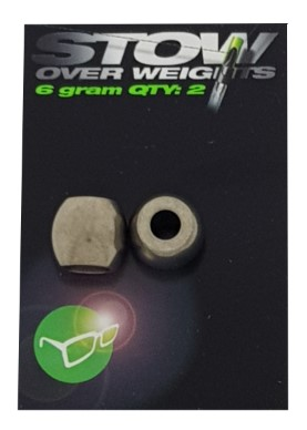 Korda Stow Over Weights 6gr 2pcs