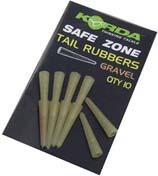 Korda Tail Rubber Gravel/Khaki 10pcs