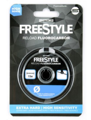 Spro Free Style Fluorcarbon 15m
