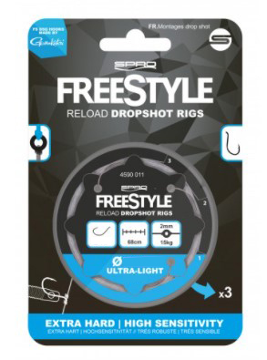 Spro Freestyle Dropshot Rig 68cm