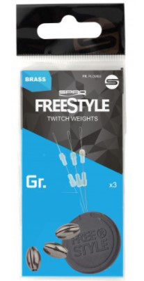 Spro Freestyle Twitch Weights 3pcs