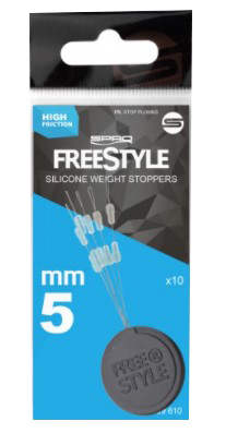 Spro Freestyle Weight Stoppers 5mm 10pcs